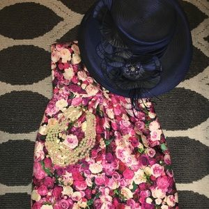 Kate Spade Strapless Floral Dress